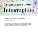 create awesome infographics ebook thumbnail