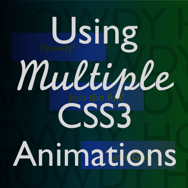 using multiple css3 animations-08730