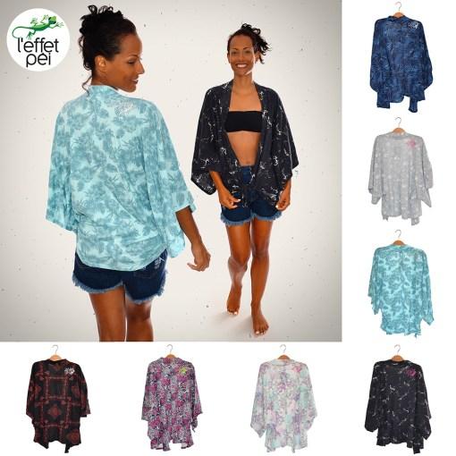 Kimono femme L'effet Péi