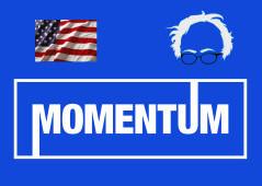 Bernie's Momentum