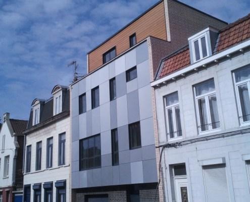 Lille_construction d'une habitation