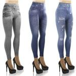 LeJeans Lot de 3 jeggings