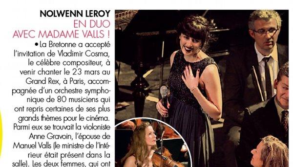 Nolwenn Leroy Manuel Valls