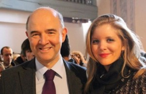 Pierre Moscovici -Marie-Charline Pacquot
