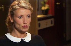 Alexandra Lamy toute trace Jean Dujardin efface