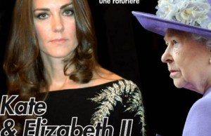 Kate Middleton soutenue contre la reine