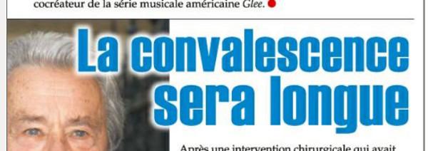 Alain Delon en convalescence Loiret