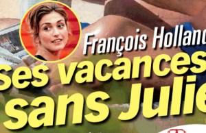 François Hollande sans Julie Gayet dans le var