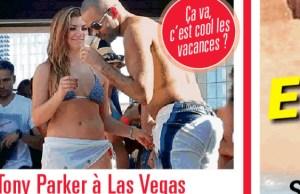 Tony Parker eclate Las Vegas avec les copines de ses coequipiers