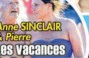 Anne Sinclair agacée par les photos avec Pierre Nora