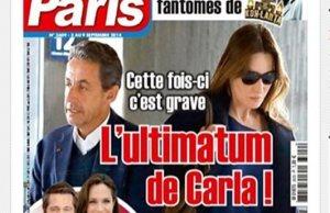 Carla Bruni-Sarkozy non au retourde Nicolas Sarkozy