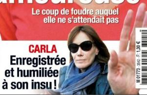 Carla Bruni-Sarkozy solidaire de Valérie Trierweiler
