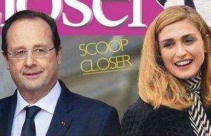 Julie Gayet et François Hollande «un déjeuner dans l'herbe