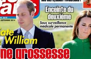 Kate Middleton, son échographie exhibée par William