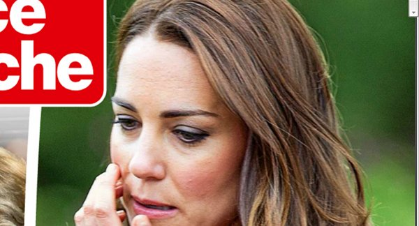 Kate Middleton, un terrible accident de voiture
