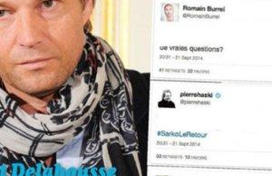Laurent Delahousse, un message mystérieux
