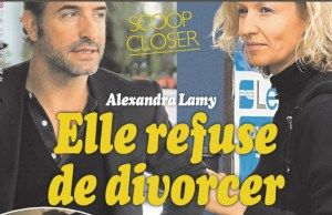 Alexandra Lamy refuse de divorcer de Jean Dujardin