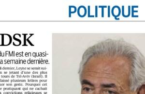 Dominique Strauss-Kahn brisé par le suicide de son associé