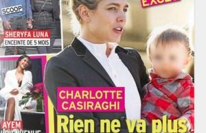 Gad Elmaleh- Charlotte Casiraghi une cigarette