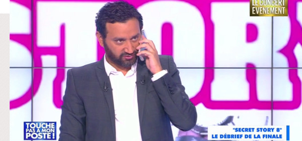 Gad Elmaleh appelle Cyril Hanouna