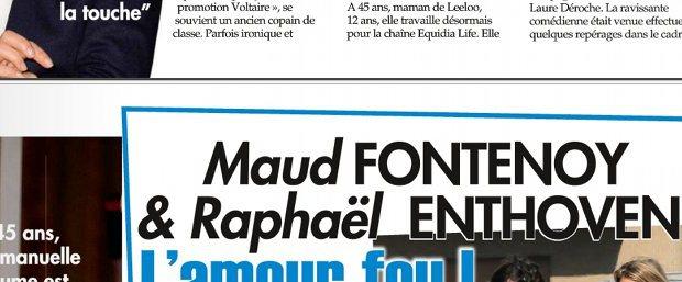 Maud Fontenoy et Raphaël Enthoven, le bébé