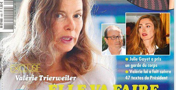 Valerie Trierweiler son fils toujours Elysee