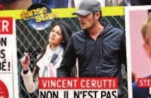 Vincent Cerutti,  pas avec Shym