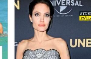 Angelina Jolie, au moindre faux-pas, elle se fracasse