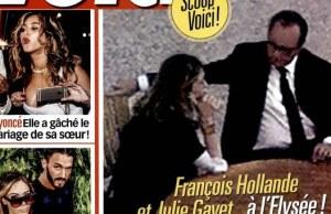 François Hollande et Julie Gayet, qui est l'auteur de la photo de Voici