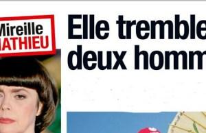Mireille Mathieu tremble pour les deux hommes de sa vie