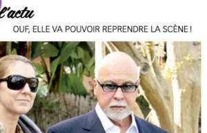 René Angelil, Céline Dion impatiente de reprendre le boulot