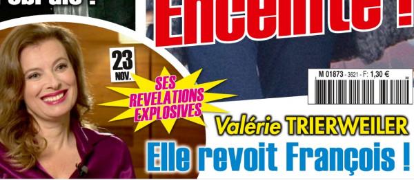 Valérie Trierweiler et François Hollande, des retrouvailles secrètes