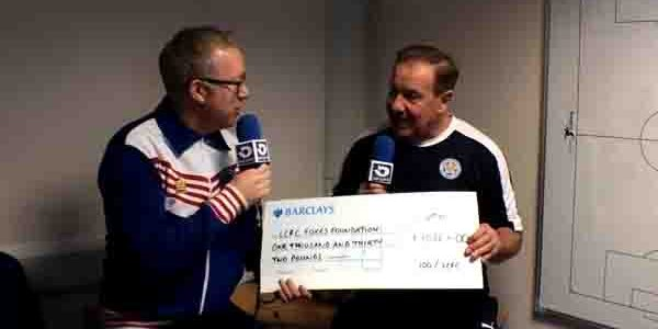VIDEO – 100%LCFC Fans Raise over £1k for Foxes Foundation
