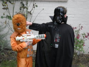 Darth and Chewie