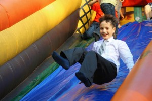 safety bouncy castle hire
