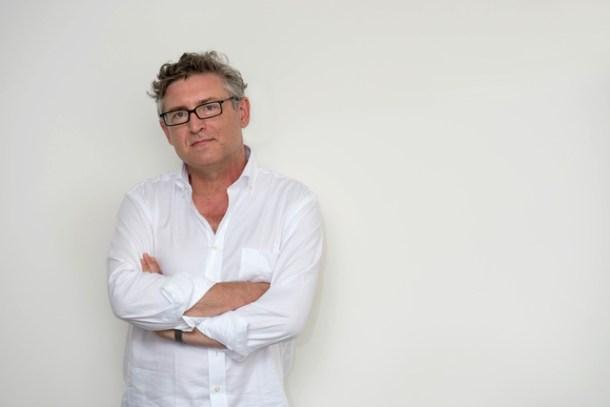 """Michel Onfray dans le cadre du salon """"Le livre sur les quais"""" . Ce samedi 07 septembre 2013. A Morges.(24HEURES/Christian Brun)"""