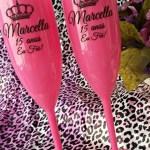 Taças de acrilico personalizadas Marcella