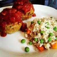 Chicken & Veggie Meatloaf Muffins
