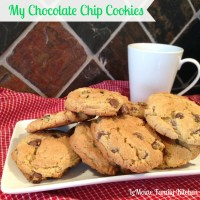 My Chocolate Chip Cookies