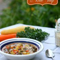 Summer Squash & Kale Soup