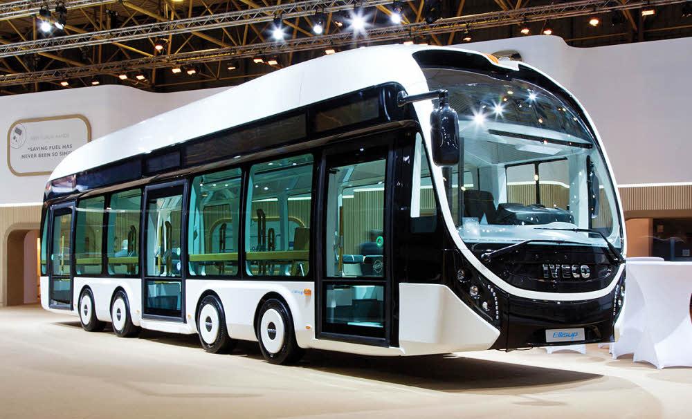 Iveco et EDF présentent le bus électrique nouvelle génération
