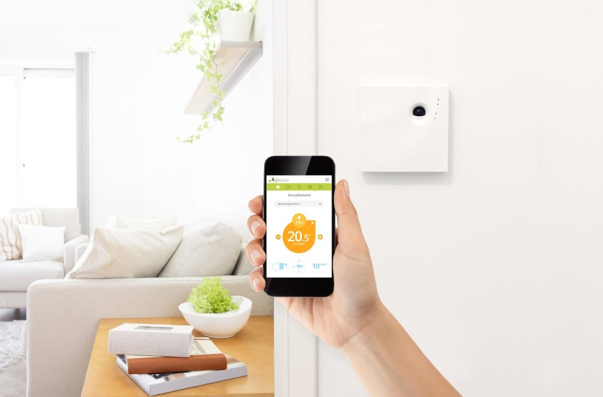 Qivivo, un thermostat intelligent made in France