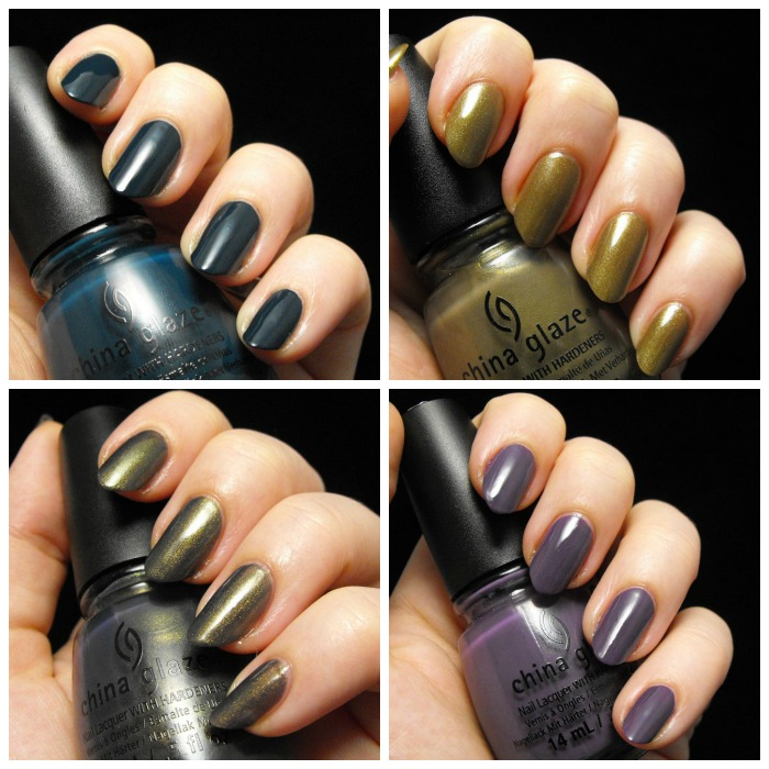 China Glaze All Aboard collage