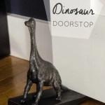 DIY Dinosaur Door Stop