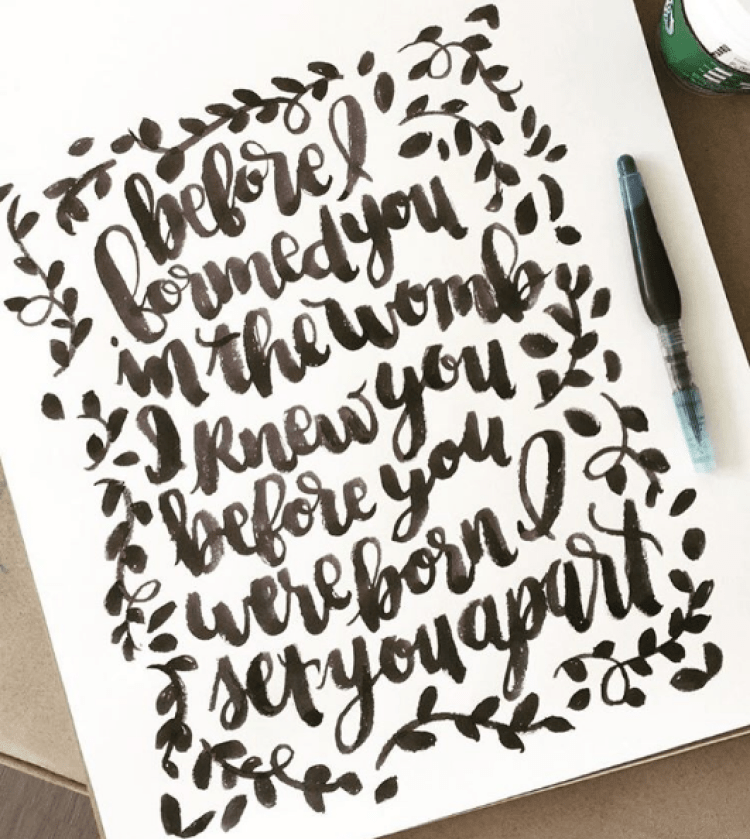 lettered by @colleenpastoor lemonthistle.com
