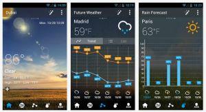 GO Weather and Forecast via androidappsapks.com
