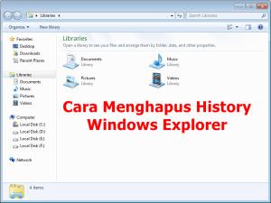 Windows Explorer history