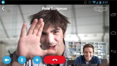 skype untuk android