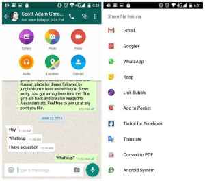 Berbagi File Whatsapp Dengan Cloudsend