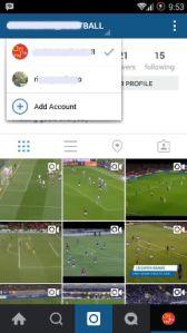 Switch Account Instagram